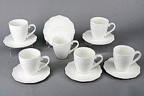 Чашка с блюдцем набор 12 пр. с рис. (12шт) XWB-190(LY2-0014)