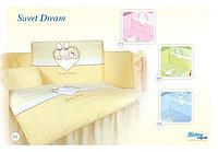 3 предмета TUTTOLINA SWEET CREAM (TUTTOLINA КПБ 3 пред.  SWEET DREAM 3HD/23 голубой)