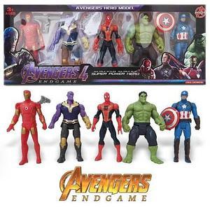 Набор фигурок супергероев с Таносом «Мстители: Война Бесконечности» AVENGERS 4 End Game (180 мм)