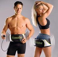 Вибромассажер-пояс для похудения Vibroaction универсальный для разных зон тела