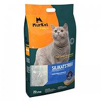Murkel,силикагелевый наполнитель для кошек с ароматом лотоса,уп.22л(10 кг.)