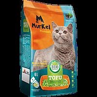 Murkel Tofu,комкующийся,соевый наполнитель,зеленый чай,уп.5,2кг(12л.)