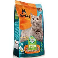 Murkel Tofu,комкующийся,соевый наполнитель,кофе,уп.5,2кг(12л.)