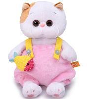 Кошечка Ли-Ли Baby в меховом комбинезоне мягкая игрушка