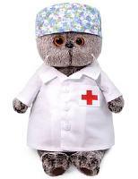 Кот Басик - доктор 19 см мягкая игрушка