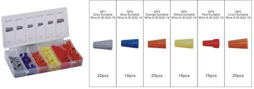 Forsage Комплект коннекторов электрических, 107 предметов Forsage F-787 12776