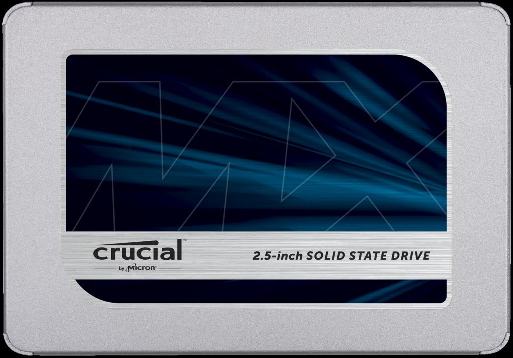 """Твердотельный накопитель 1000Gb SSD Crucial MX500 2.5"""" SATA3 R560Mb/s, W510MB/s 7mm CT1000MX500SSD1."""