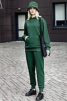 Женский осенний трикотажный зеленый спортивный спортивный костюм GO F3000/25-02.170-176 42р.