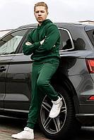 Мужской осенний трикотажный зеленый спортивный большого размера спортивный костюм GO М3000/25-02 52р.