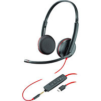 Polycom BLACKWIRE C3225 USB-C гарнитура (209751-101)