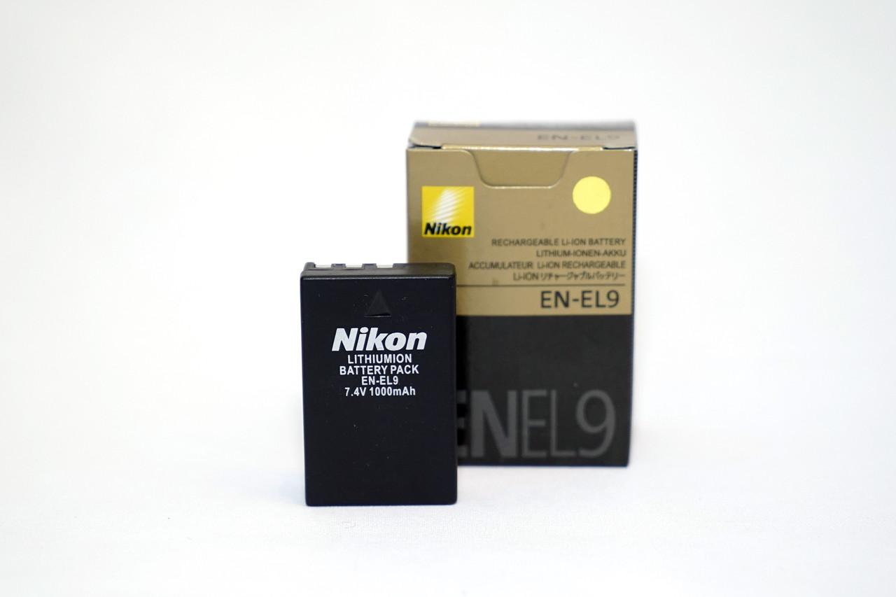 Аккумуляторы на Nikon D60 D40 D40X D3000 D5000 модель EN-EL9 (дубликат)