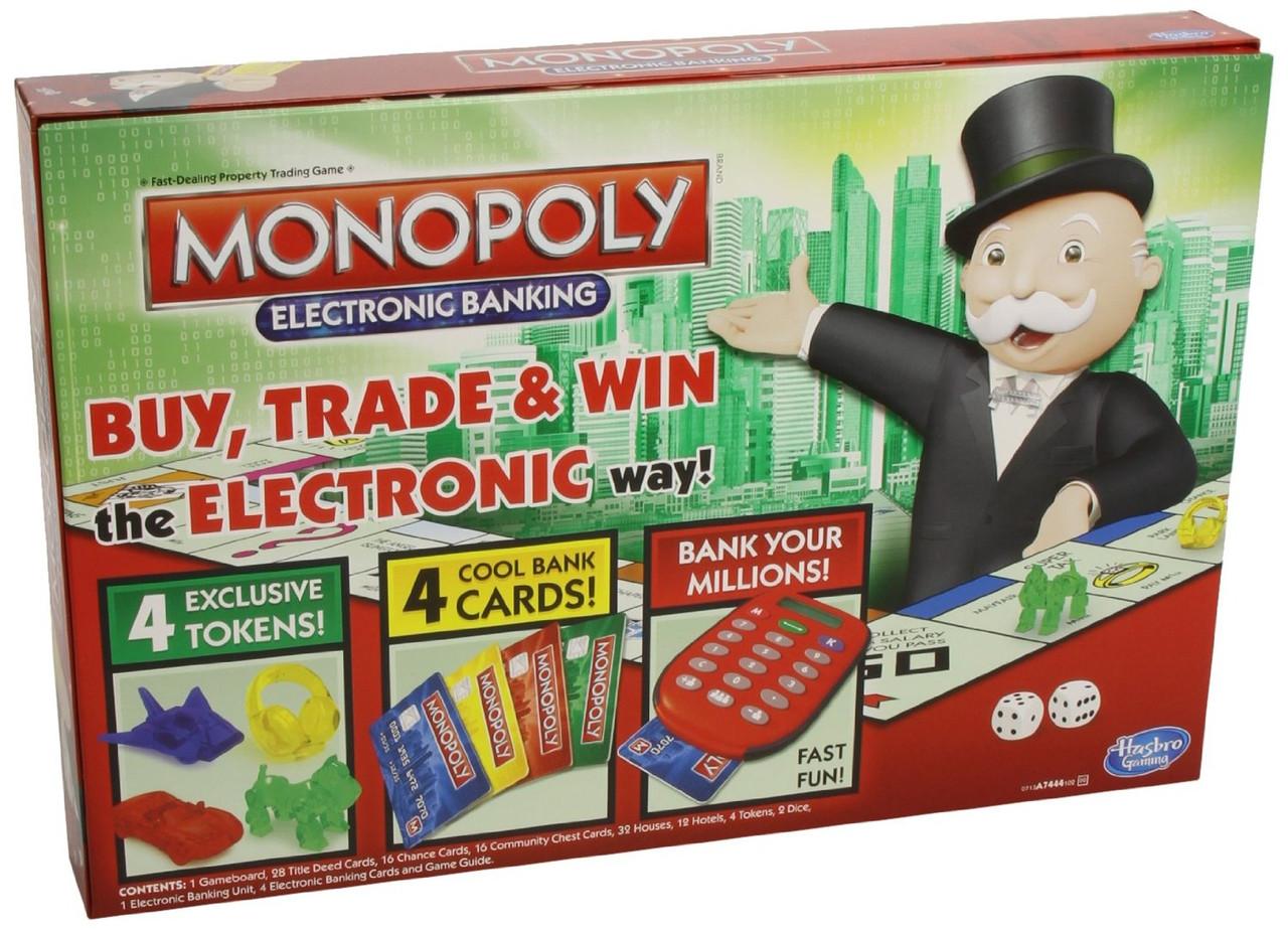 """Hasbro Настольная игра """"Монополия"""" (с банковскими картами)"""