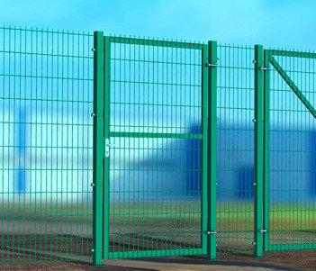 Калитка распашная металлическая 2D, пруток 6 мм., фото 2
