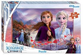 """Мозаика """"puzzle"""" 560 """"Холодное сердце - 2"""" (Disney)"""