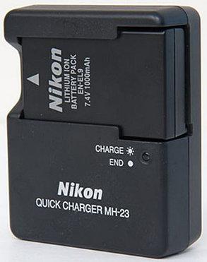 Зарядное устройство MH-23 на Nikon  D60 D40 D40X D3000 D5000 /EN-EL9 (дубликат), фото 2