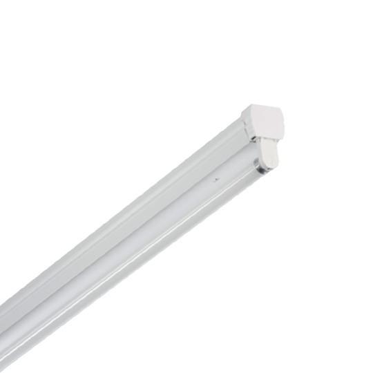 Светильник пустой под светодиодную лампу T8 LED ДПО ION 1*18w 1200*32*17 IP20 MEGALIGHT (16) NEW