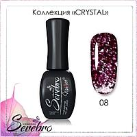"Гель-лак ""Serebro collection"" Crystal №08, 11 мл"