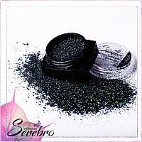 """Дизайн для ногтей """"Магия блеска"""" """"Serebro collection"""" , коллекция DARK №04"""