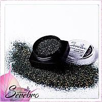 """Дизайн для ногтей """"Магия блеска"""" """"Serebro collection"""" , коллекция DARK №05"""