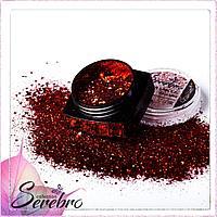 """Дизайн для ногтей """"Магия блеска"""" """"Serebro collection"""" , коллекция RED №04"""