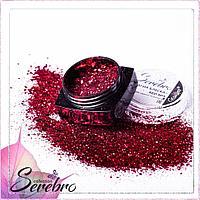 """Дизайн для ногтей """"Магия блеска"""" """"Serebro collection"""" , коллекция RED №05"""