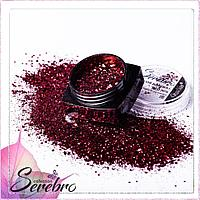 """Дизайн для ногтей """"Магия блеска"""" """"Serebro collection"""", коллекция RED №06"""