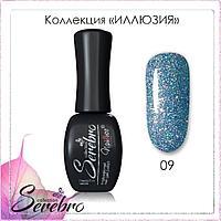 "Гель-лак ""Иллюзия"" ""Serebro collection"" №09, 11 мл"