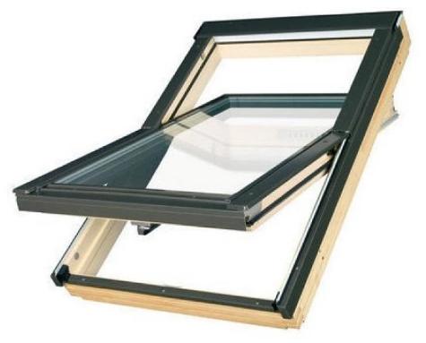 Мансардное окно 78x140  FTS-VU 2 FAKRO