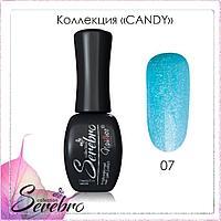 """Гель-лак """"Candy"""" """"Serebro collection"""" №07, 11 мл"""