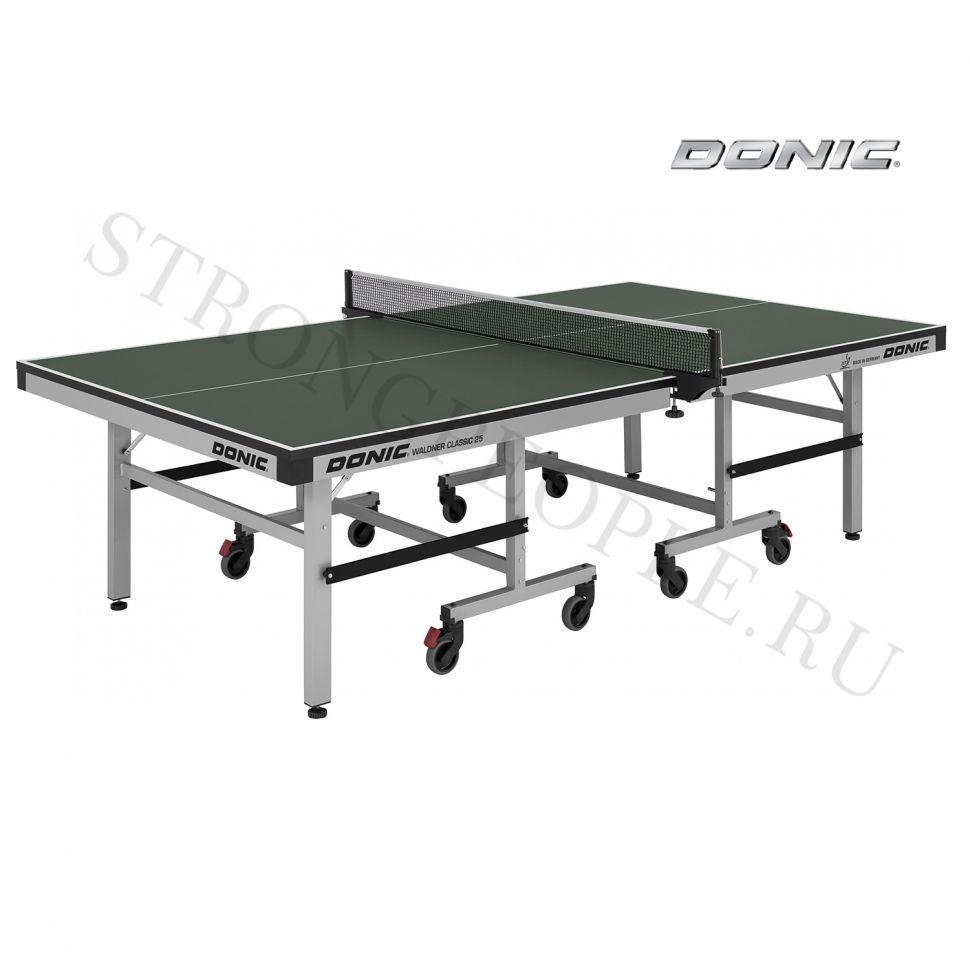 Теннисный стол профессиональный Donic Waldner Classic 25 зеленый