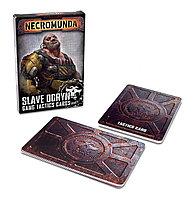 Necromunda: Slave Ogryn Tactics Cards (Некромунда: Тактические карты Рабов огринов) (Eng.)