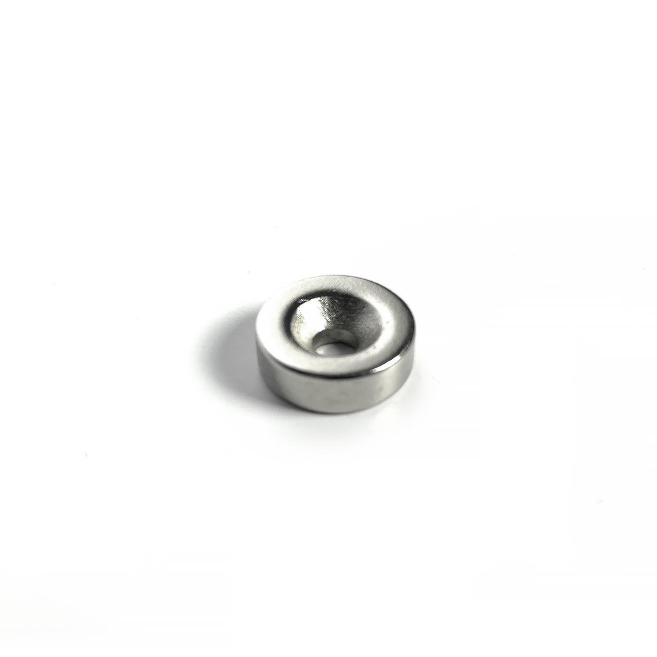 Магнит неодимовый с отверстием 15X5mm