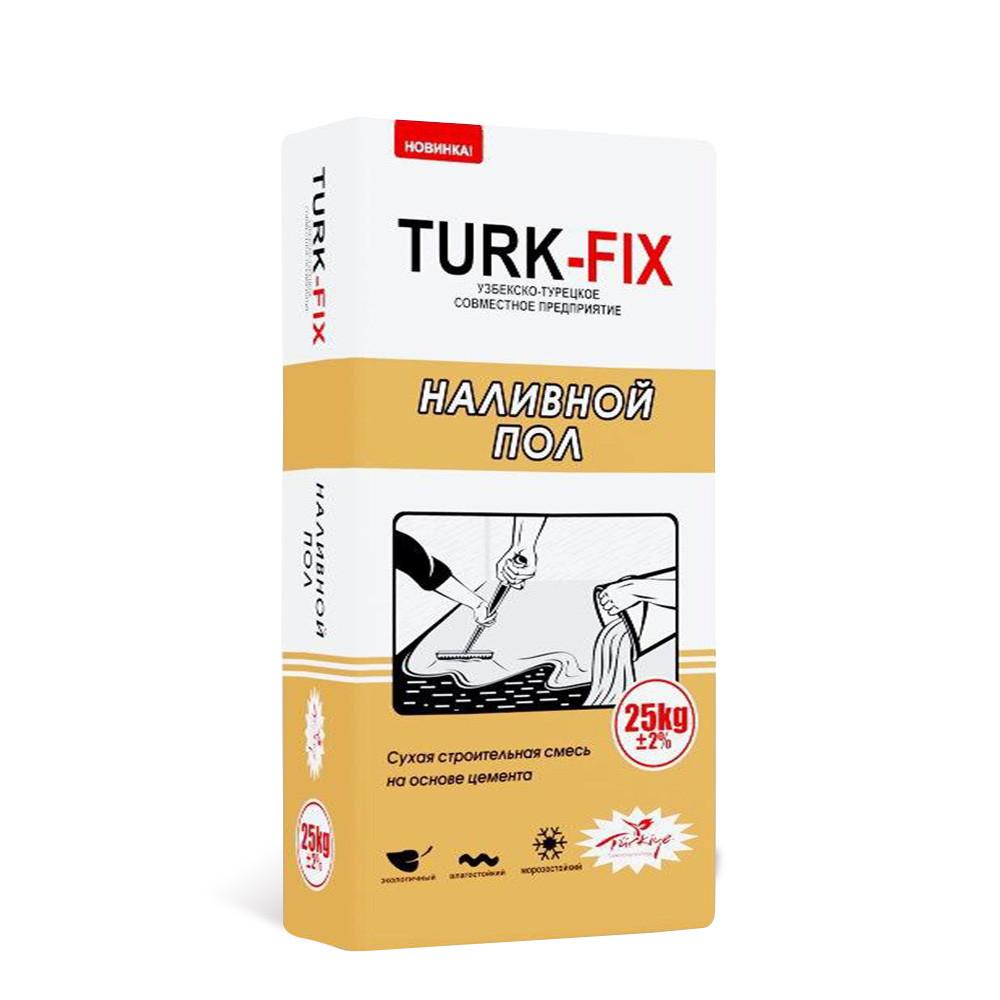 Наливной пол TURK-FIX 25 кг.