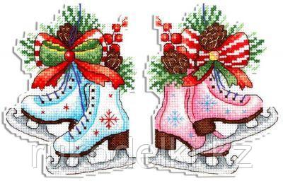 """Набор для вышивания крестом """"Фигурный Новый год"""""""