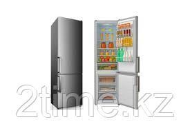 Холодильник Midea HD-468RWEN(ST)/с нижней морозильной камерой