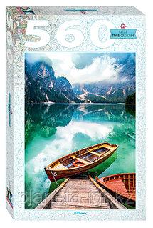 """Мозаика """"puzzle"""" 560 """"Италия. Озеро Брайес"""""""