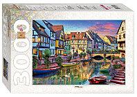 """Мозаика """"puzzle"""" 3000 """"Канал Кольмар. Франция"""""""