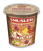 """Сухие завтраки """"Мюсли злаки и фрукты"""" MUSLER, 50г."""