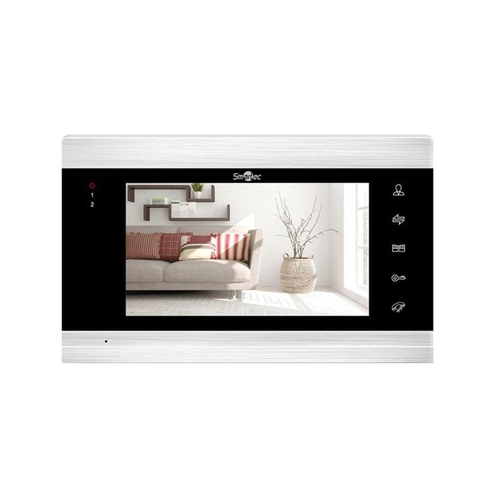 "Монитор видеодомофона Smartec ST-MS307HMT-SL 7"" AHD, SD, WiFi, серебро"