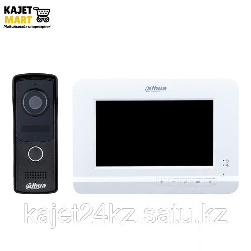 Комплект видеодомофона VTO2010D-VTH2020DW
