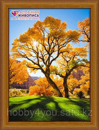 Картина стразами на холсте «Осеннее дерево», 40*50см, фото 2