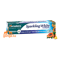 "Зубная паста ""Сверкающая белизна"" (Sparkling White HIMALAYA), 80 г."