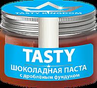 Шоколадная паста «TASTY с дробленым фундуком» 100г.