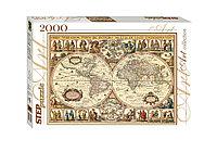 """Мозаика """"puzzle"""" 2000 """"Историческая карта мира"""""""