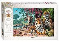 """Мозаика """"puzzle"""" 1500 """"Тигры"""""""