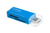 Картридер Smartbuy SBR-749 голубой
