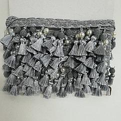 Тесьма с бахромой для штор