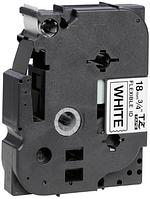 Лента TZe-FX241, черным на белом, повышенной гибкости