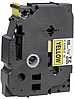 Лента TZe-FX641, черным на желтом, повышенной гибкости
