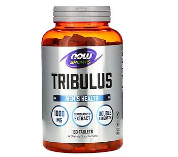 Now Foods, Спортивная серия, трибулус, 1000 мг, 180 таблеток
